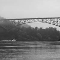 """Deception Pass Bridge"" by nilesphotography"