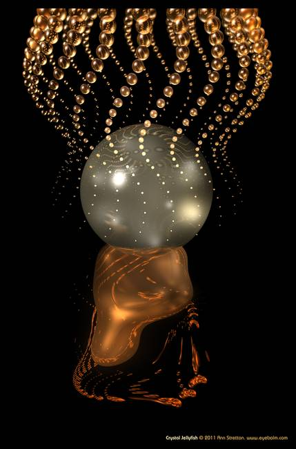 Crystal Jellyfish by Ann Stretton