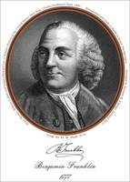 Benjamin Franklin in 1777