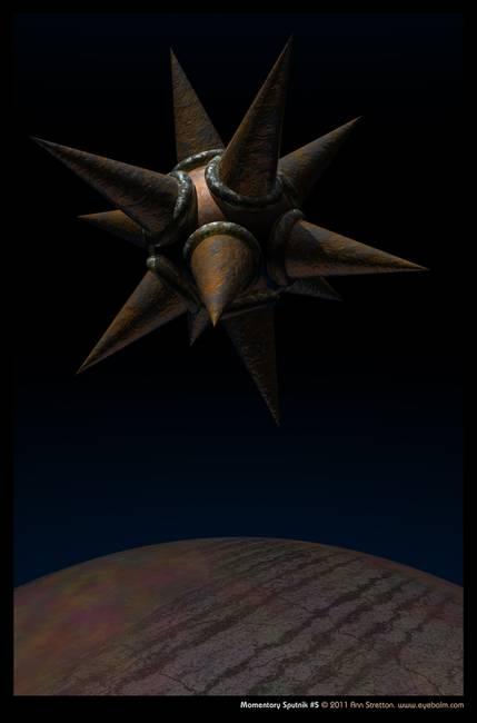 Momentary Sputnik #5 by Ann Stretton