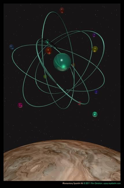 Momentary Sputnik #6 by Ann Stretton
