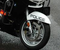Police Motorcycle Tire