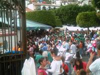 Taxco Zocalo Full of People