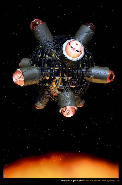 Momentary Sputnik #8 by Ann Stretton