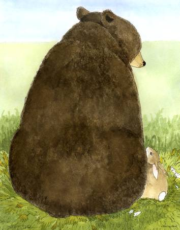 Big Bear Little Bunny by Diana Delosh