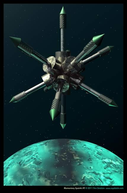 Momentary Sputnik #9 by Ann Stretton