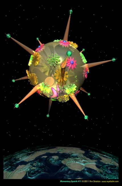 Momentary Sputnik #11 by Ann Stretton