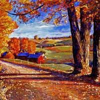"""Autumn Evening"" by DavidLloydGlover"