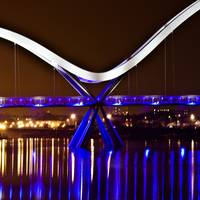 The Infinity Bridge, Stockton on Tee's.