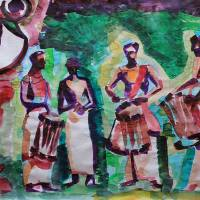 Theyyam Art Prints & Posters by Abin Raj