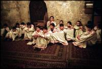 Boys in Armenian Orthodox church