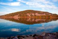 Devils Lake Reflection