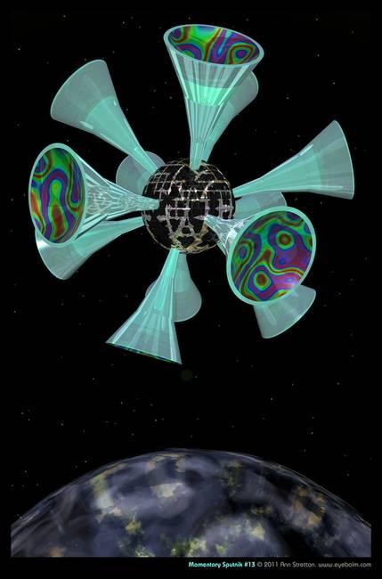 Momentary Sputnik #13 by Ann Stretton