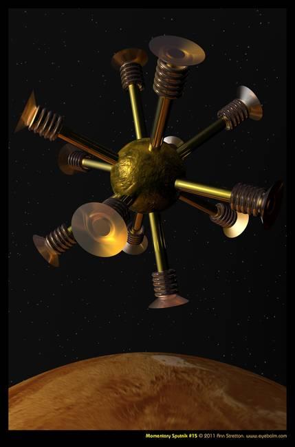 Momentary Sputnik #15 by Ann Stretton