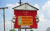 Route 66 - Pig-Hip Restaurant 2006