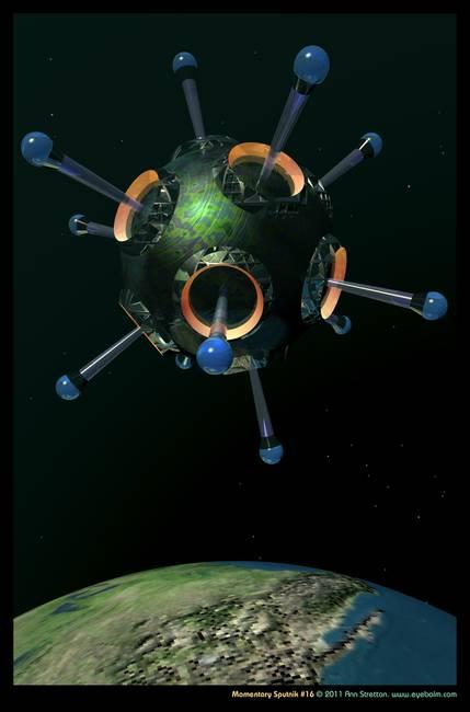 Momentary Sputnik #16 by Ann Stretton