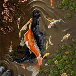 """Koi Mermaid"" by Jill_Johansen"