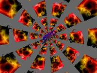 Spinning Blocks of Fire 8