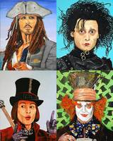 Johnny Depp Collage