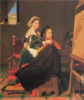 Raphael and the Fornarina