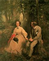 The Courtship by George Cochran Lambdin