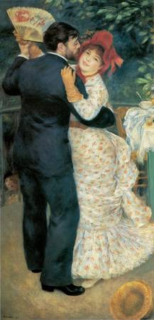 Dance in the Country by Pierre-Auguste Renoir