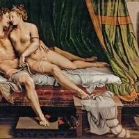 """Two Lovers by Giulio Romano"" by ArtLoversOnline"