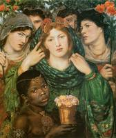 The Beloved (The Bride) by Dante Gabriel Rossetti