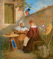 The Love Letter by Carl Spitzweg