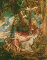Venus and Adonis by Joseph Mallord William Turner