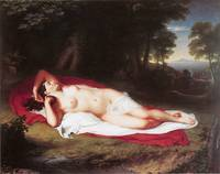 Ariadne Asleep on the Island of Naxos
