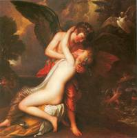 Cupid and Psyche by Benjamin West