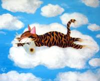 Cat art by catmaSutra - Cloud 9