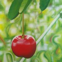 Lonely Cherry/Static Art Prints & Posters by C Klyne