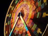 Ferris Wheel in Motion