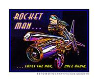 Rocket Man - Saves the Day