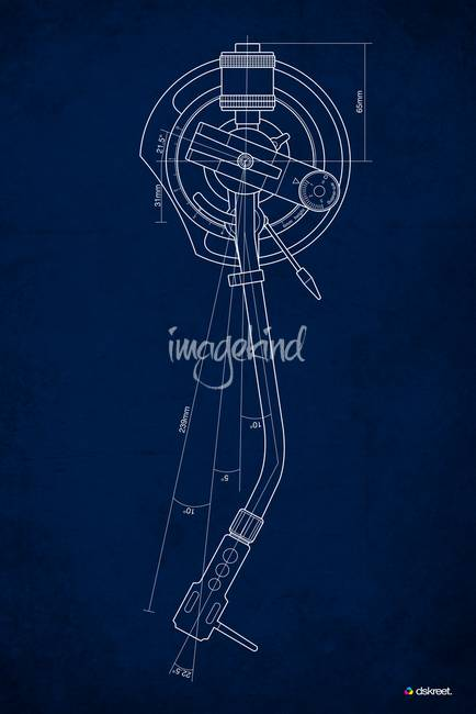 Stunning blueprints artwork for sale on fine art prints tonearm blueprint by dskreet 2009 malvernweather Gallery