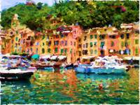 Portofino Harbor III - Rectangular