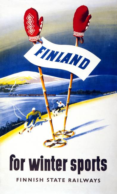 Travel Finland for Winter Sports