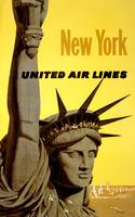 Travel New York, United Air Lines