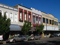 Old Downtown Albany, Oregon