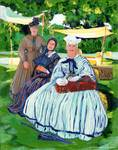 Friendly Ladies in the Park by Riccoboni