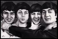 The Beatles Drawing