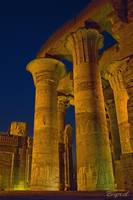Spotlit Temple of Sobek
