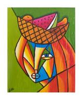 Lady with Fruit Hat