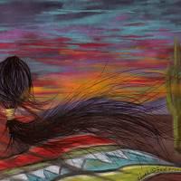 """Southwest Sunset"" by PENStudio"