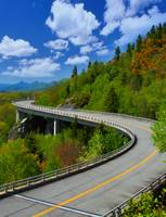 Linn Cove Viaduct - Blue Ridge Parkway Spring Summ