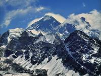 Mount Everest - Lhotse From Gokyo Ri, Himalaya, Sa