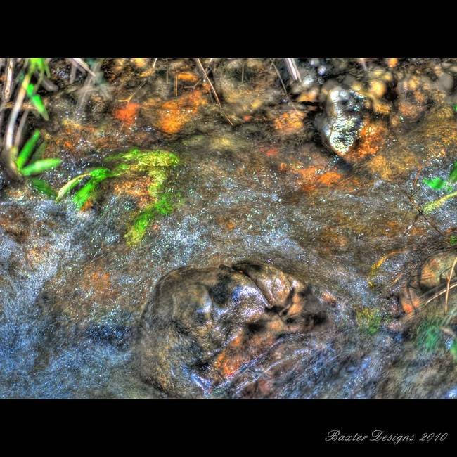 moving water HDR