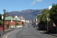 Houses at Battery Point, Hobart Tasmania